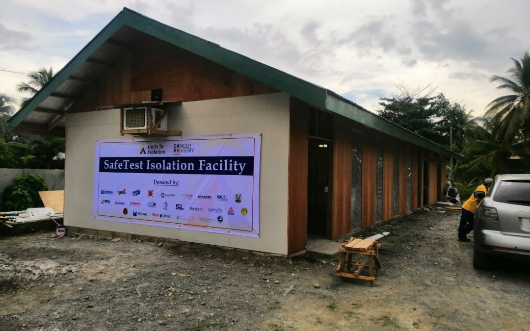 Turnover of isolation facility by TDFI to Davao del Norte province